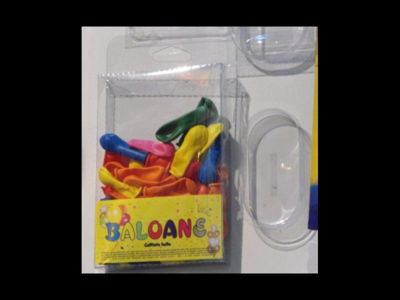 Blistere Transparente Din Plastic Pentru Pentru Baloane