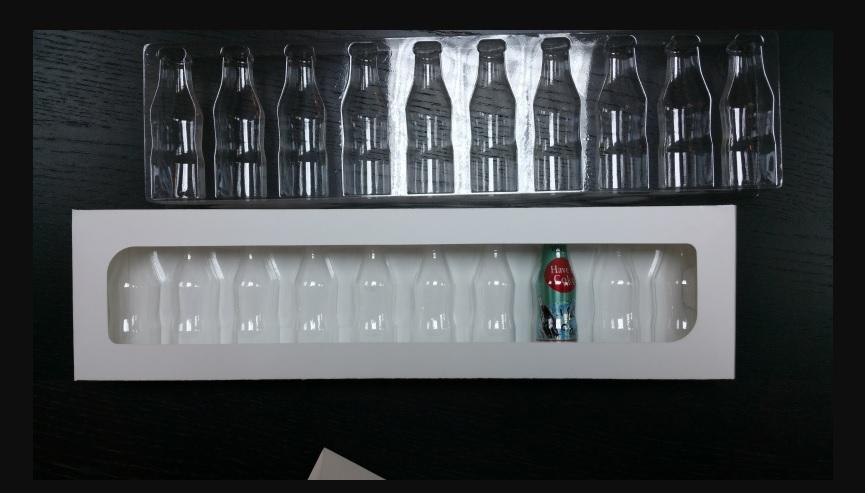 Blistere Transparente Din Plastic Pentru Pentru Sticlute