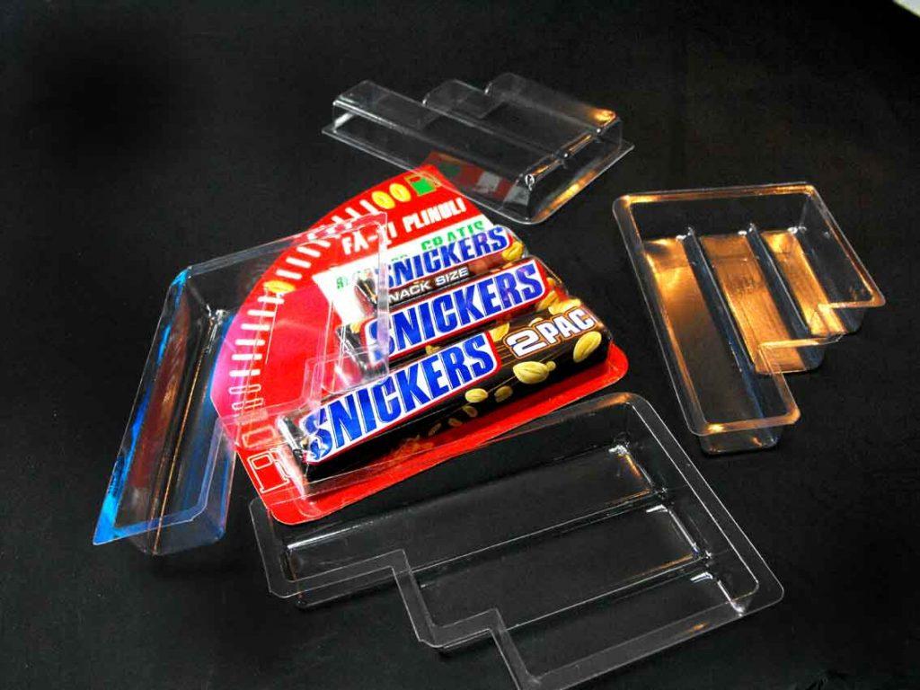 Blistere Transparente Din Plastic Pentru Batoane Ciocolata
