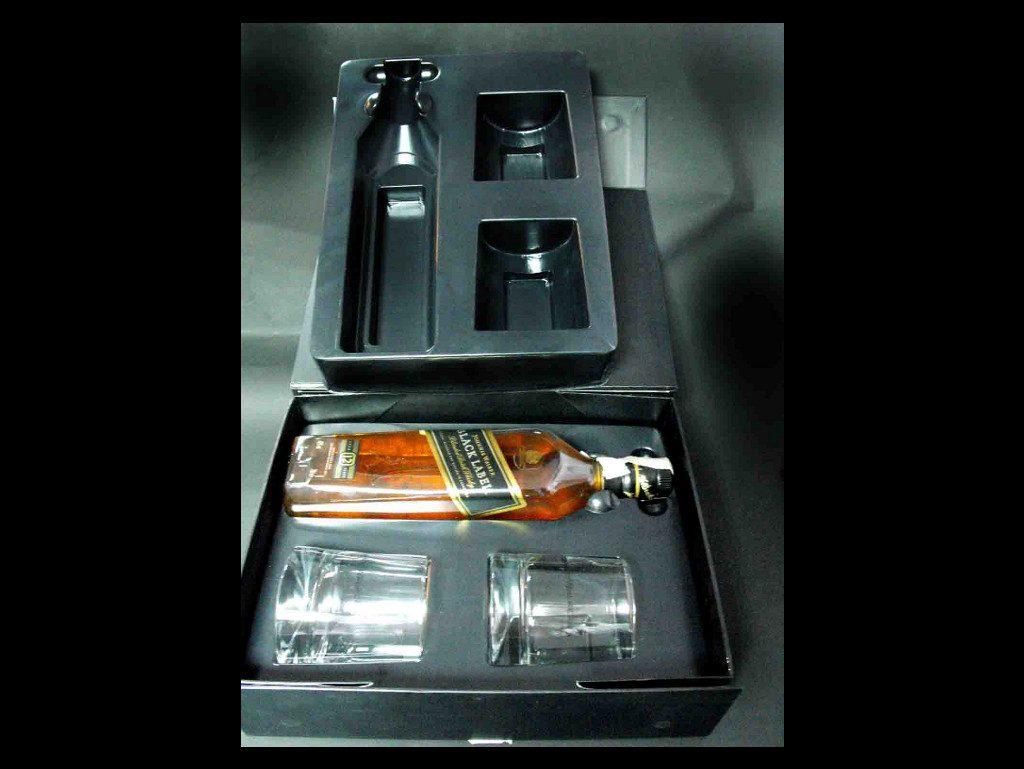 Blister plastic pentru set cadou sticla si pahare (2)
