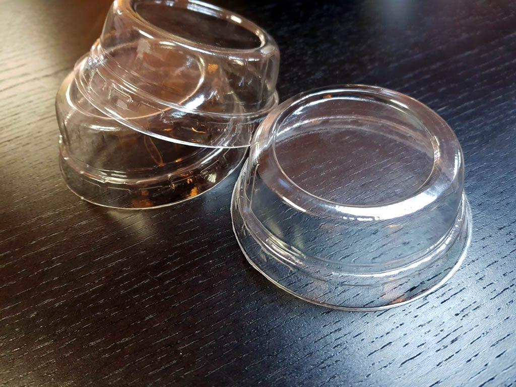 Capac plastic pentru pahare plastic sau hartie (1)