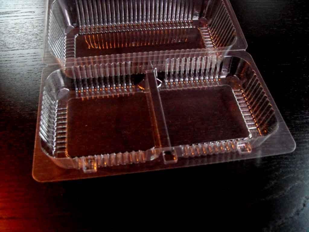 Caserola din plastic cu 2 compartimente pentru amandine (8)
