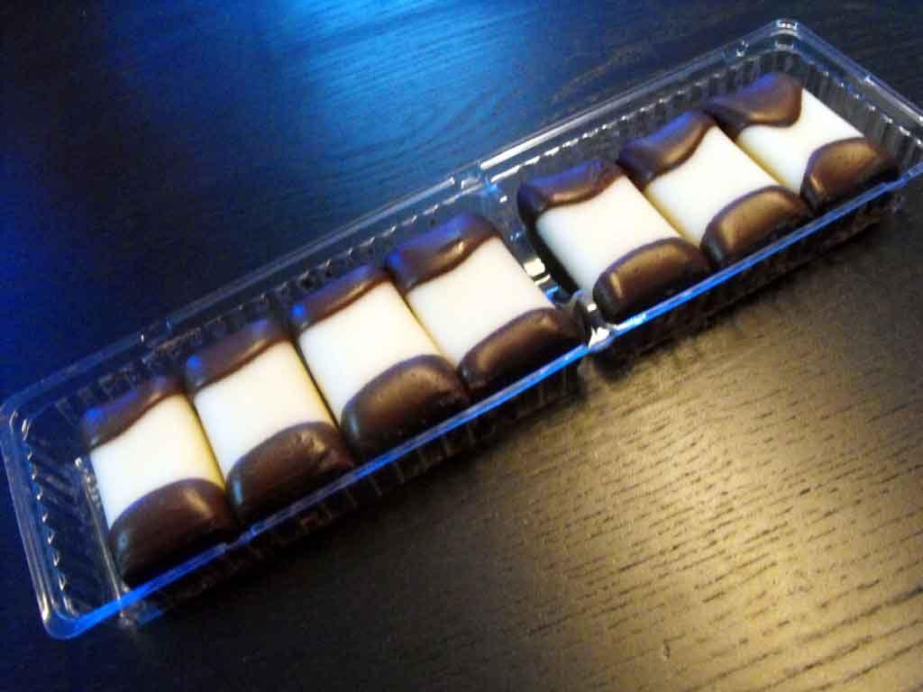 Caserola din plastic cu 2 compartimente pentru biscuiti (1)