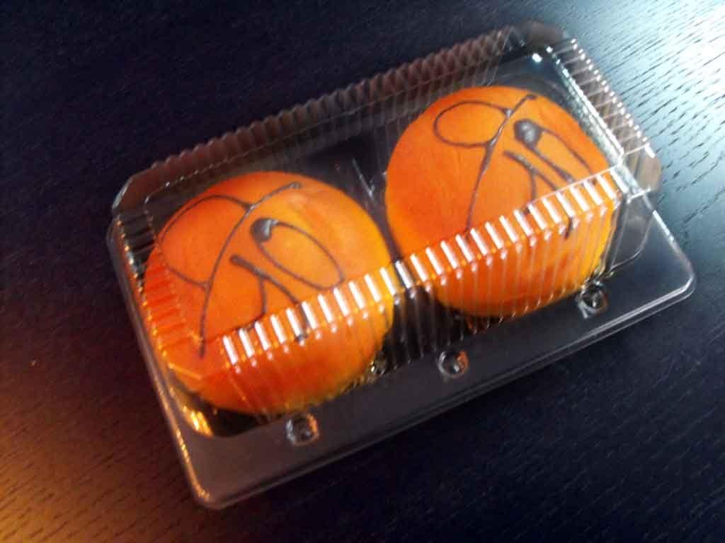 Caserola din plastic cu 2 compartimente pentru gogosi (6)