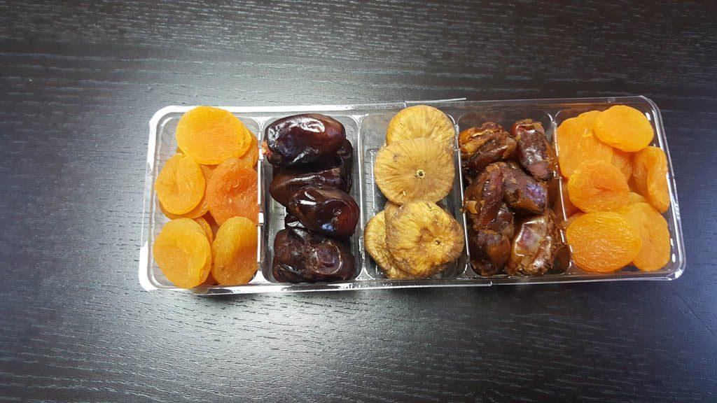 Caserola din plastic cu 5 compartimente (1)