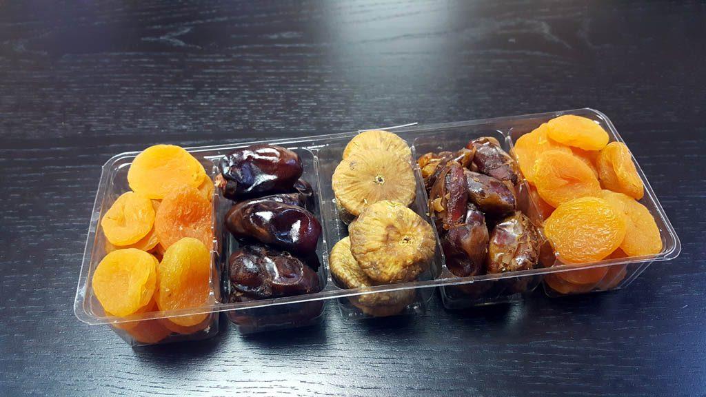 Caserole Transparente Din Plastic Pentru Cu 5 Compartimente