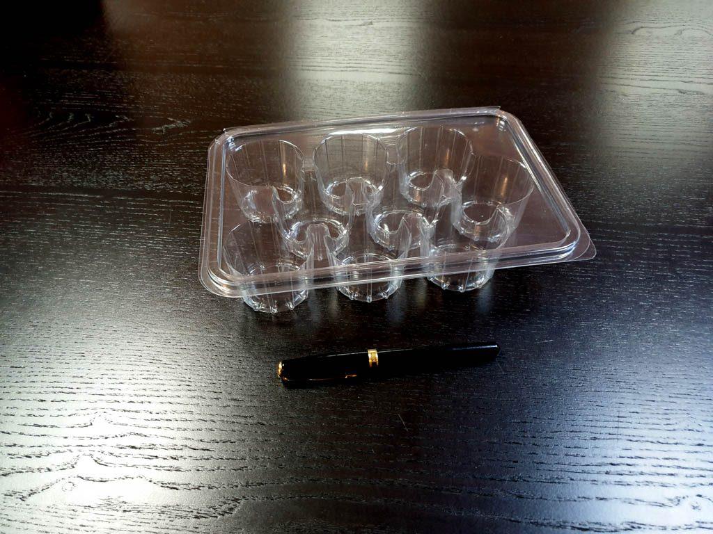 Caserola din plastic cu 9 alveole pentru biscuiti (2)