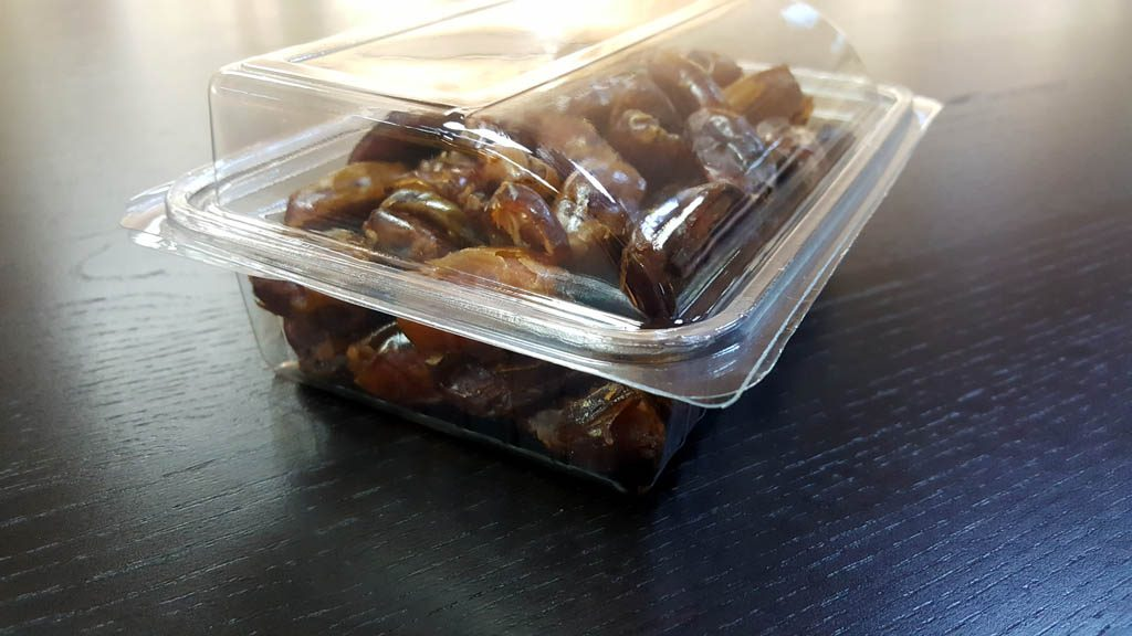 Caserola din plastic cu capac transparent pentru fructe uscate (10)