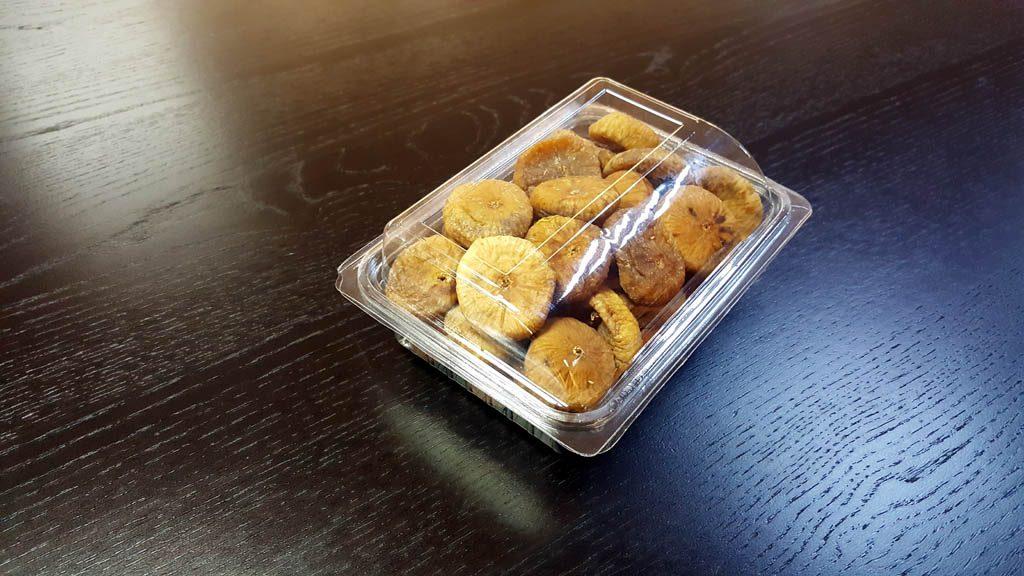 Caserola din plastic cu capac transparent pentru fructe uscate (2)