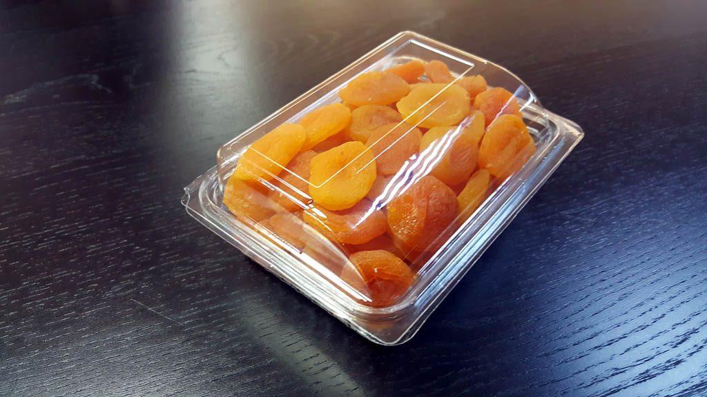 Caserola din plastic cu capac transparent pentru fructe uscate (5)