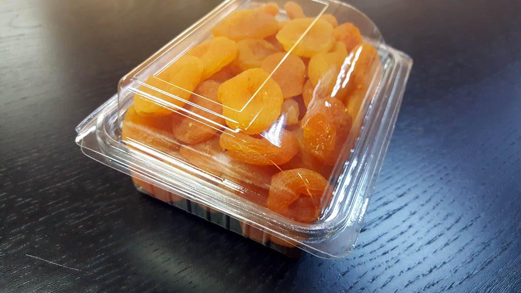 Caserola din plastic cu capac transparent pentru fructe uscate (6)