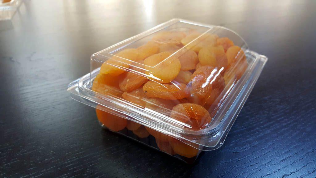 Caserola din plastic cu capac transparent pentru fructe uscate (7)