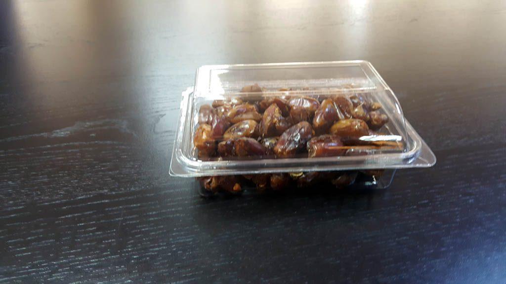 Caserola din plastic cu capac transparent pentru fructe uscate (9)