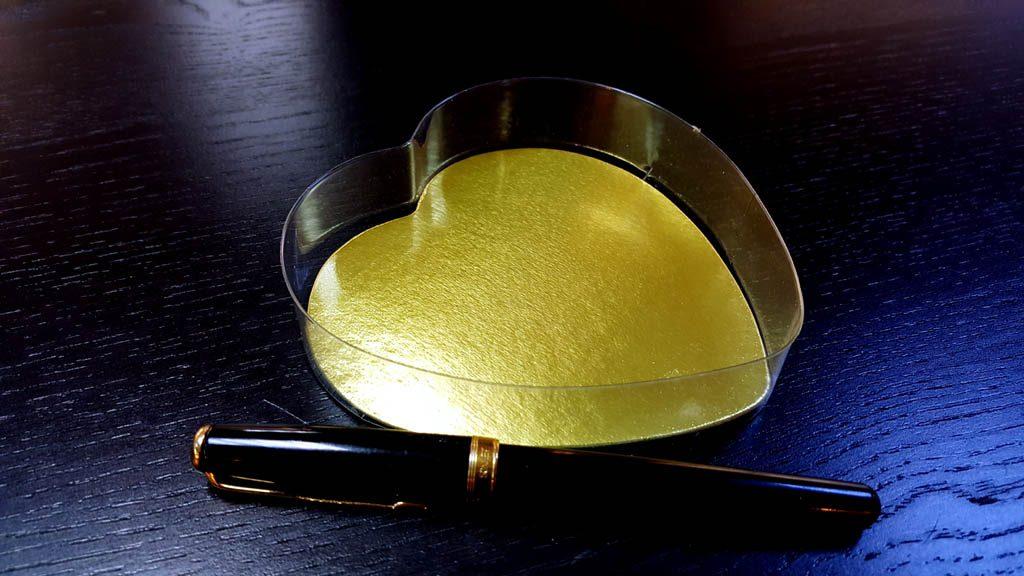 Caserole Transparente Din Plastic Pentru Bomboane Inima