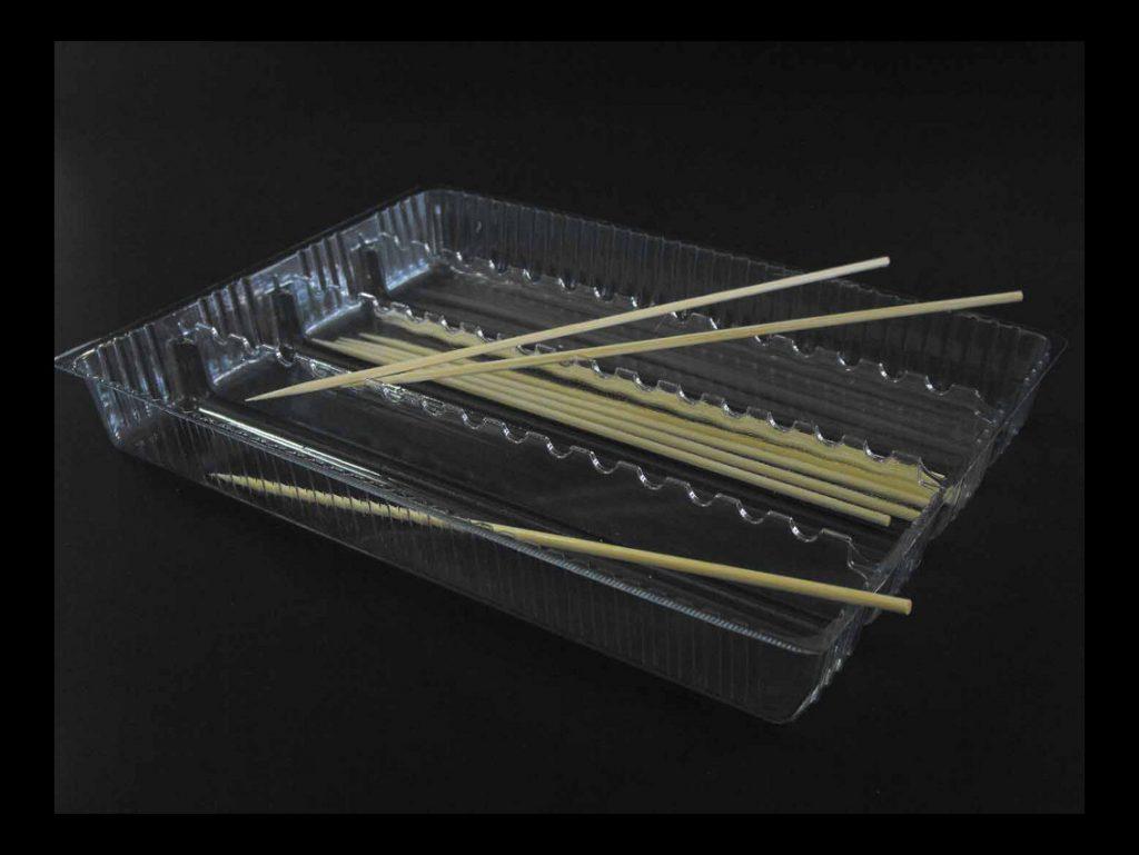 Caserola din plastic pentru frigarui (3)