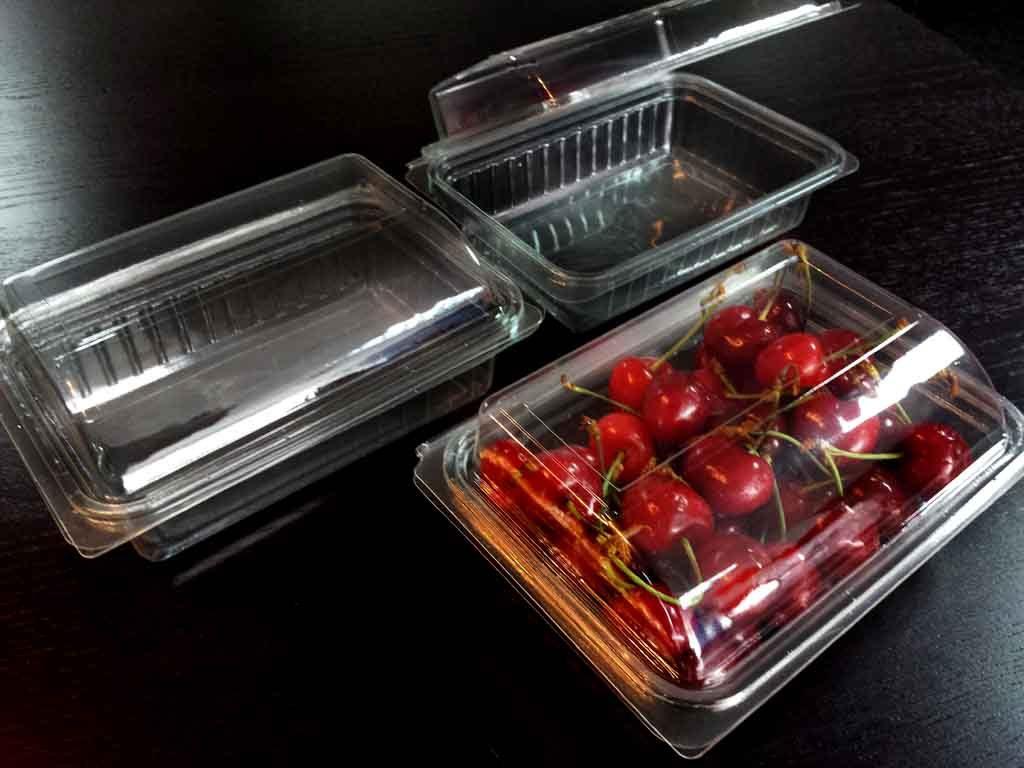 Caserola din plastic pentru fructe - cirese (5)