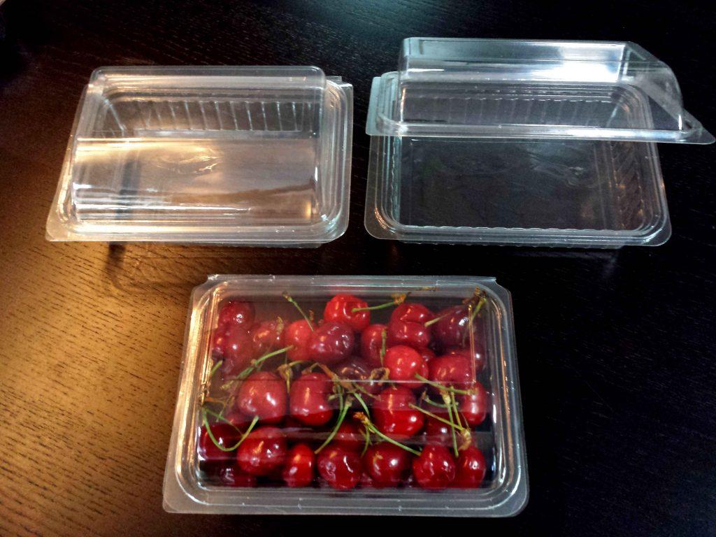 Caserole Transparente Din Plastic Pentru Fructe – Cirese