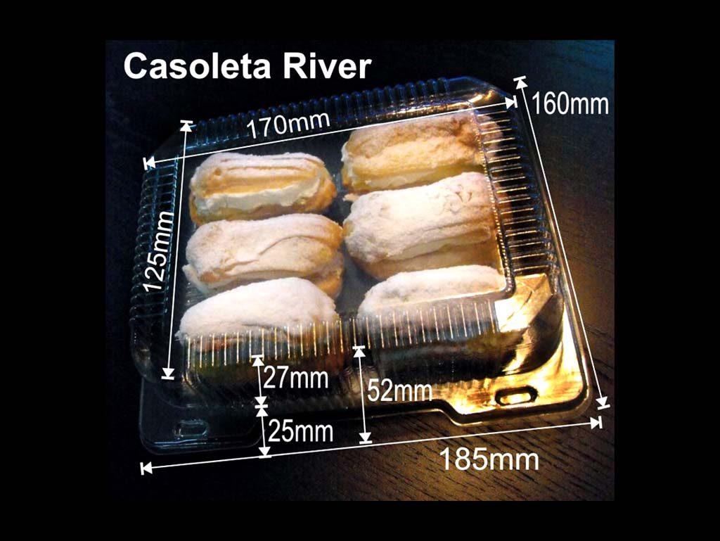 Caserola din plastic pentru minieclere (2)