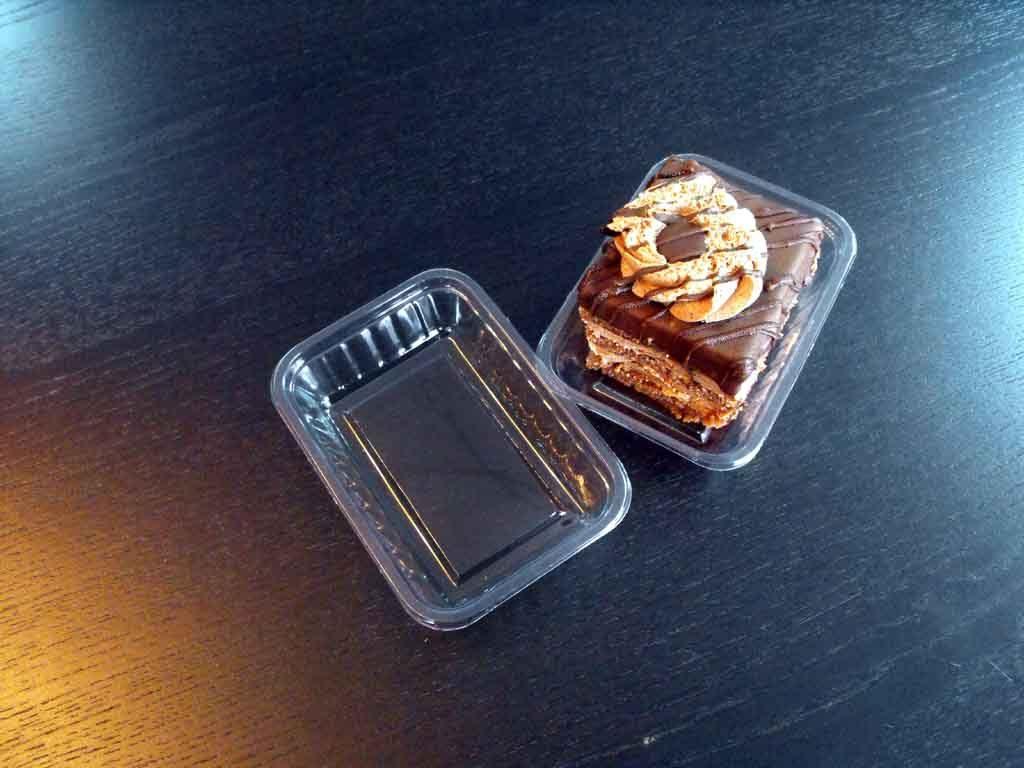 Caserole Transparente Din Plastic Pentru Prajituri Ciocolata
