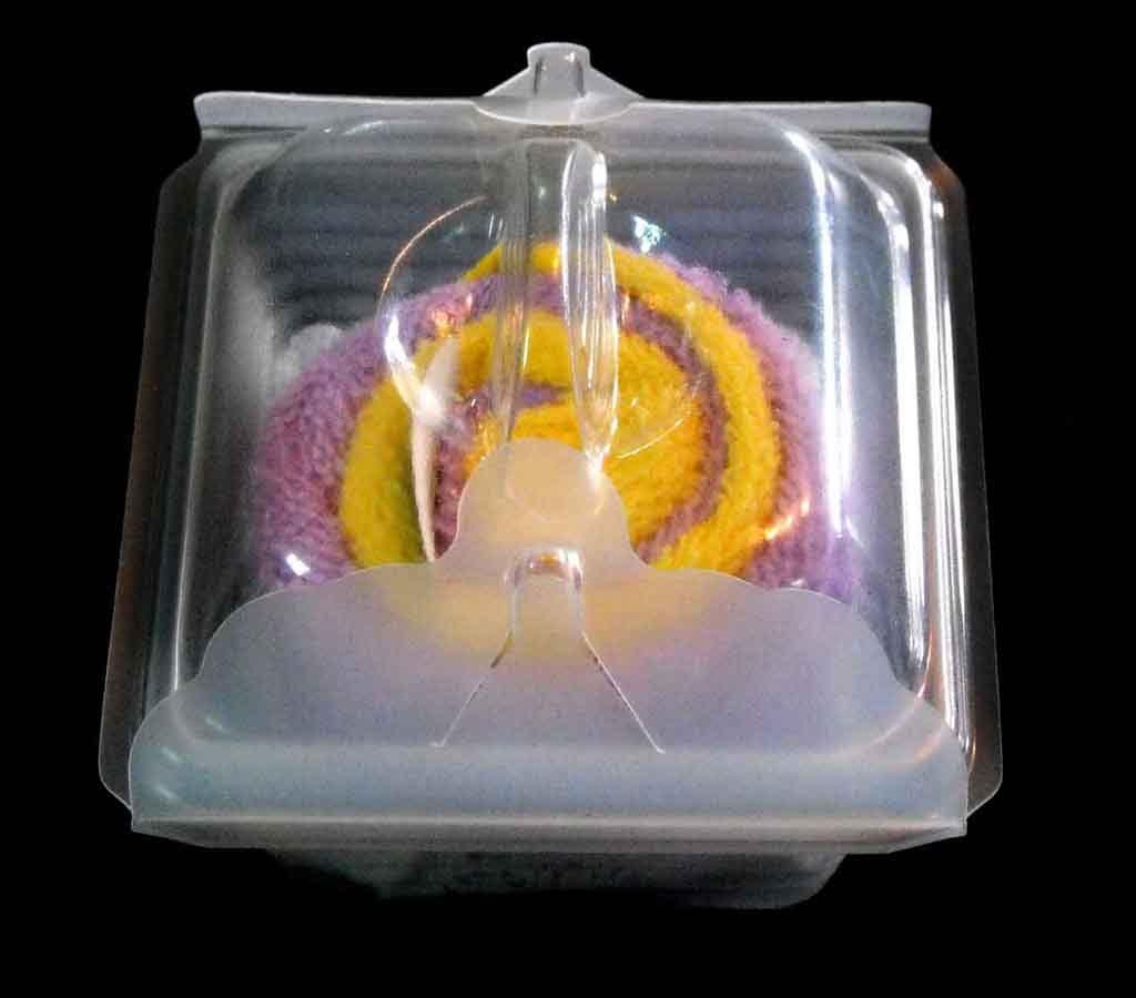 Casoleta din plastic pentru prajituri (1)