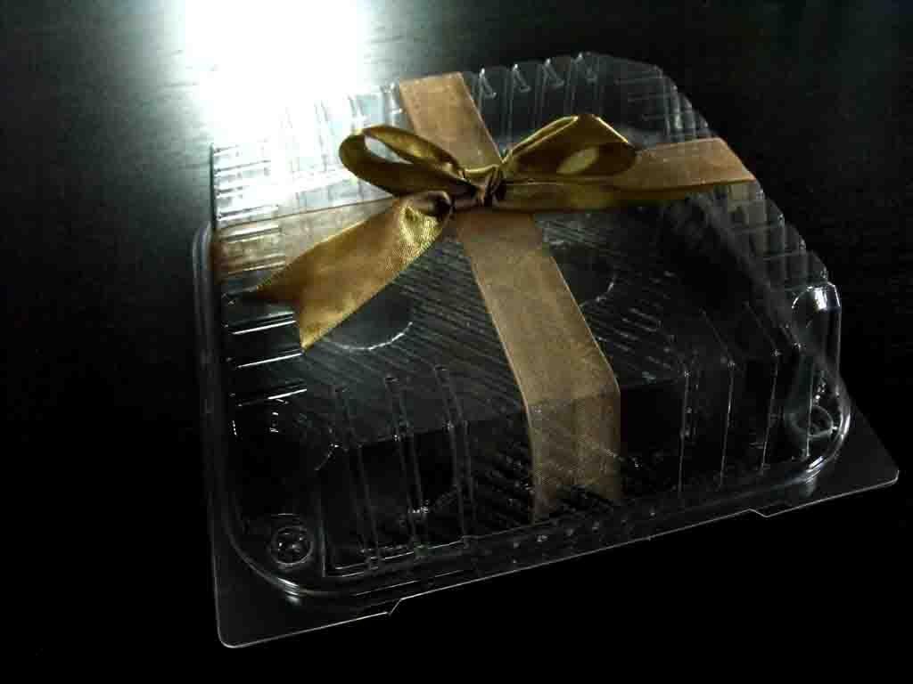Casoleta din plastic pentru tort, minitort (10)