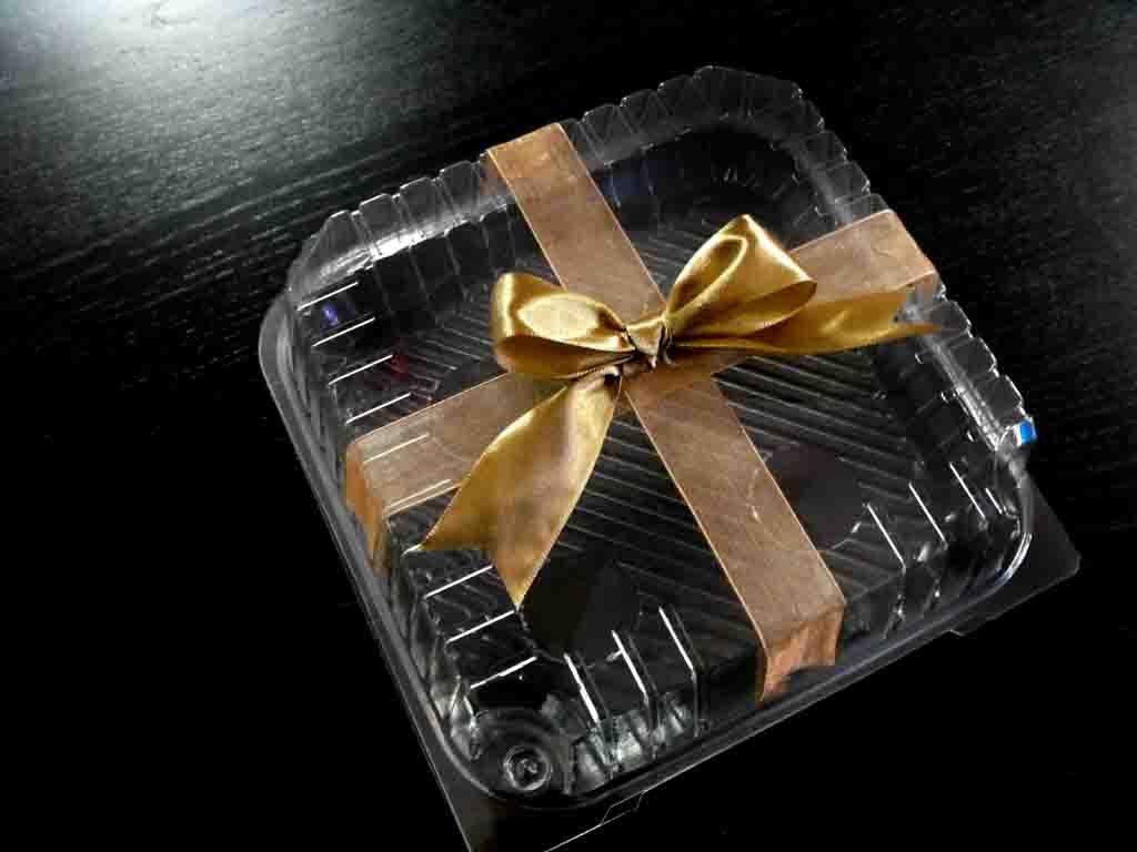 Casoleta din plastic pentru tort, minitort (8)