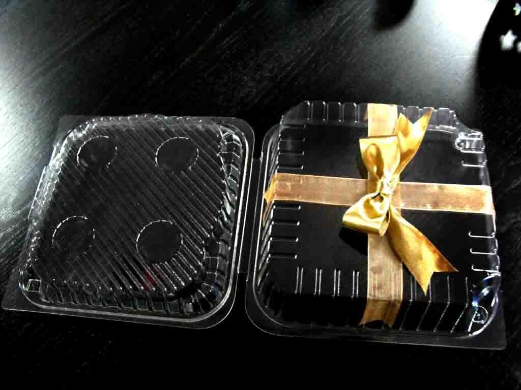 Casoleta din plastic pentru tort, minitort (9)