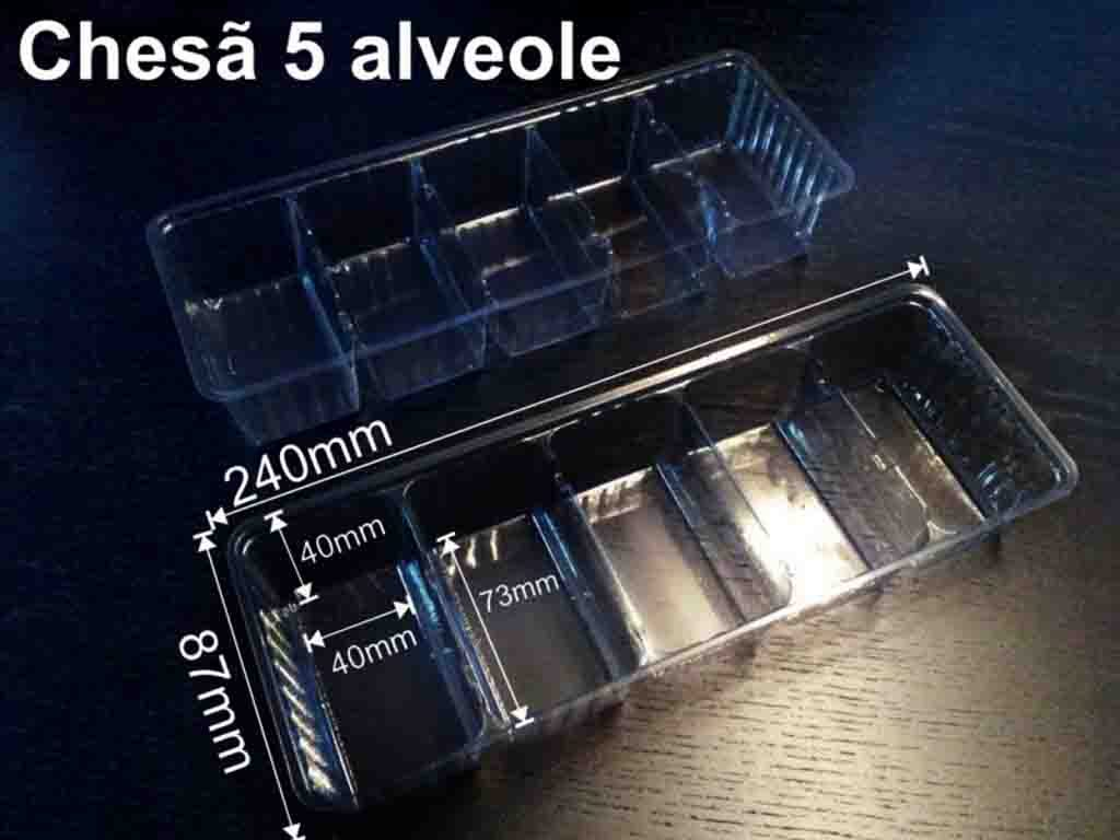 Chese plastic 5 alveole dulciuri (1)