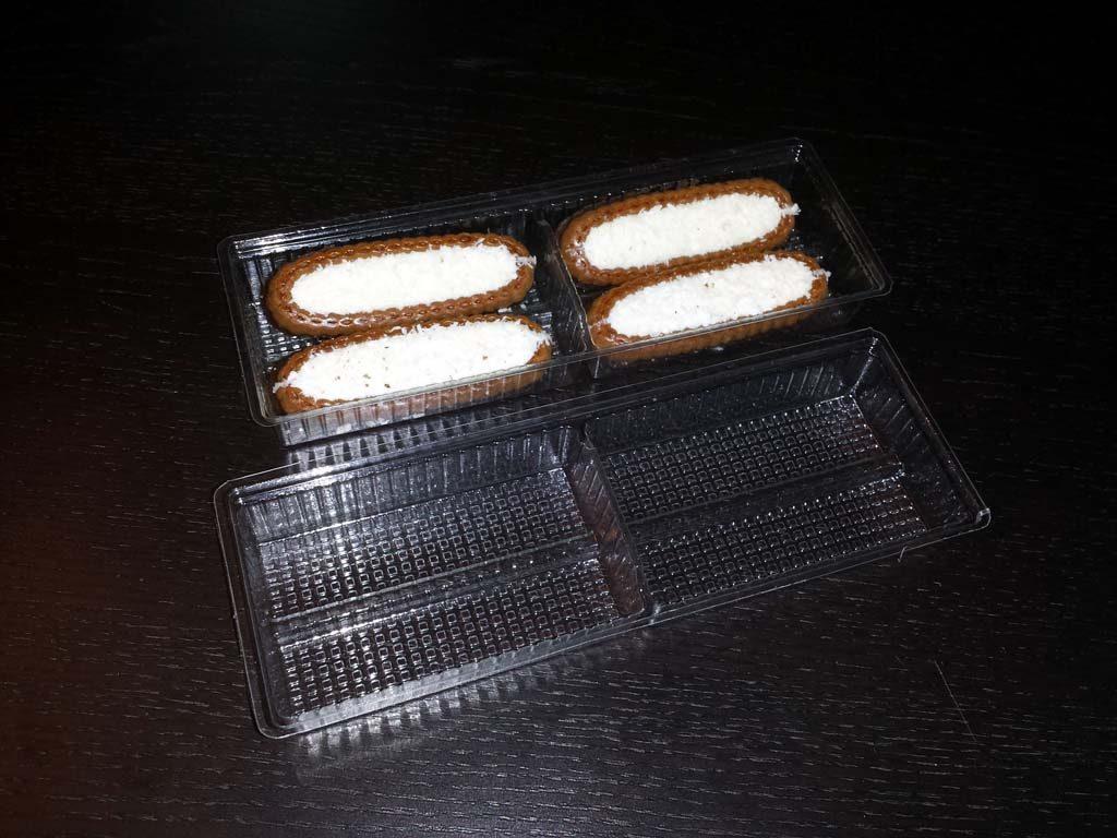 Chese plastic compartimentate pentru biscuiti, fursecuri