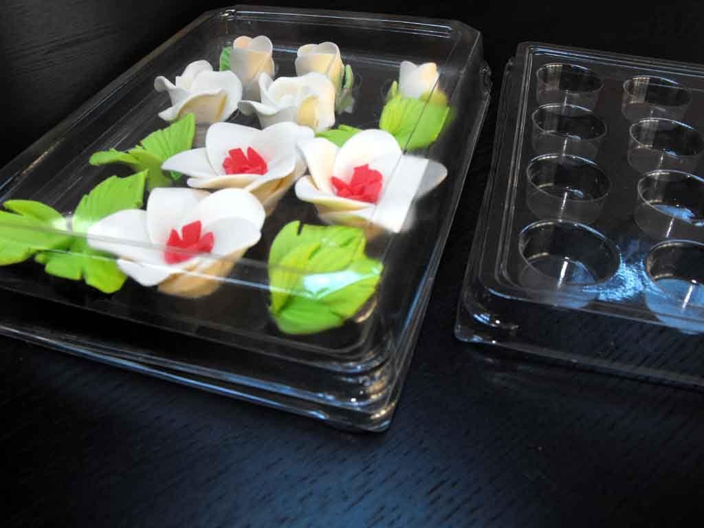 Chese plastic cu 12 alveole pentru ornamente tort (3)