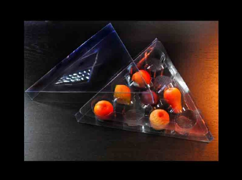 Chese plastic figurine martipan triunghi (2)