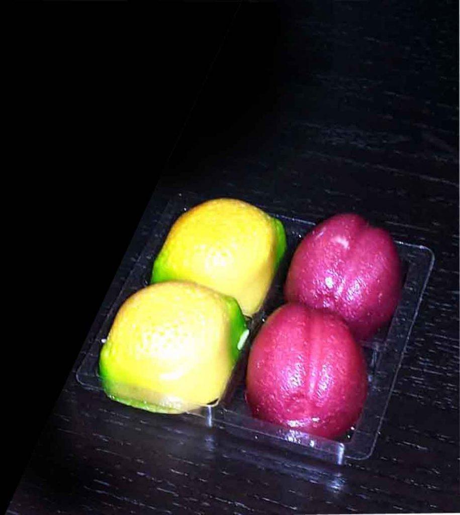 Chese Transparente Din Plastic Pentru 4 Figurine Martipan