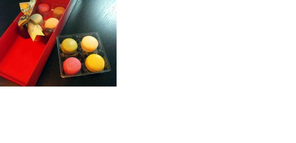 Chese Transparente Din Plastic Pentru 4 Macarons