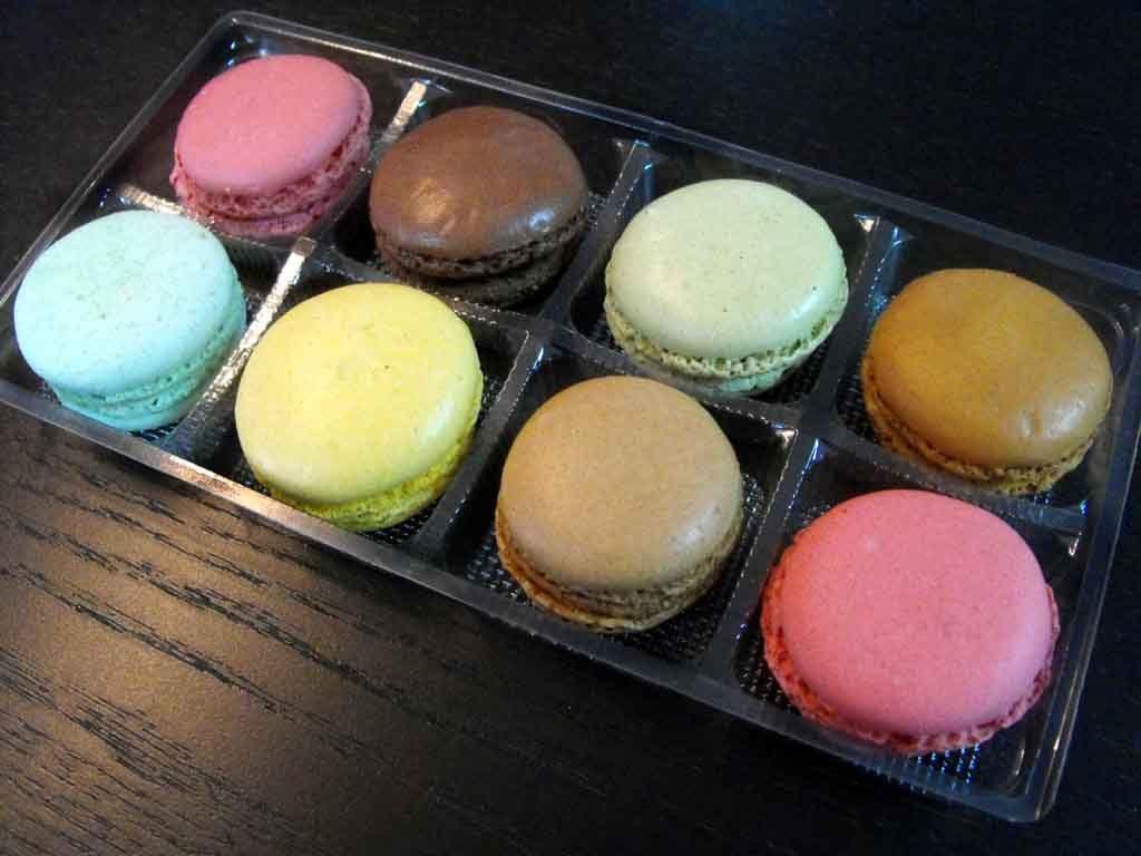 Chese Transparente Din Plastic Pentru 8 Macarons