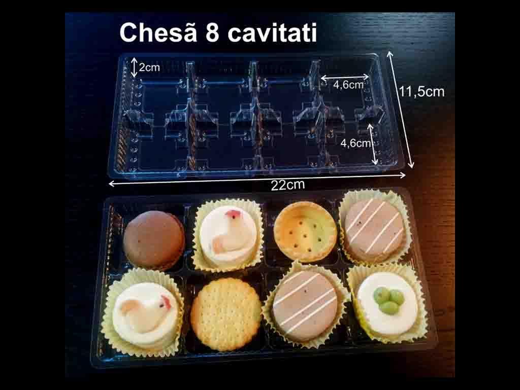Chese plastic pentru 8 prajiturele (2)