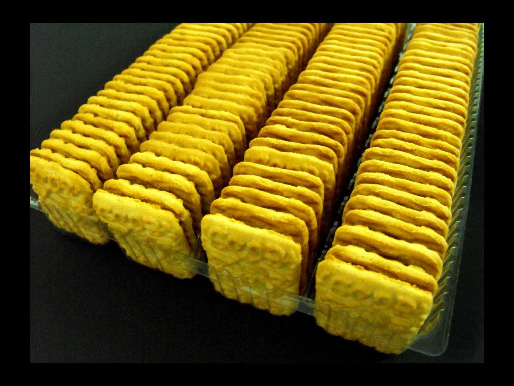 Chese Transparente Din Plastic Pentru Biscuiti Patrati