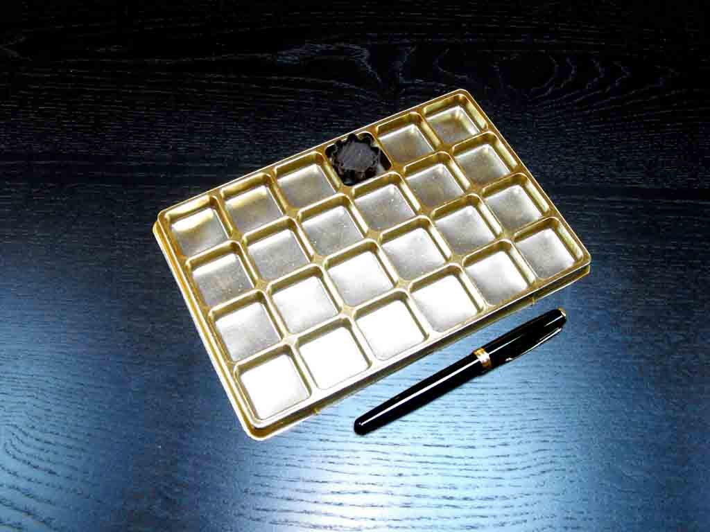 Chese plastic pentru bomboane aurii (1)