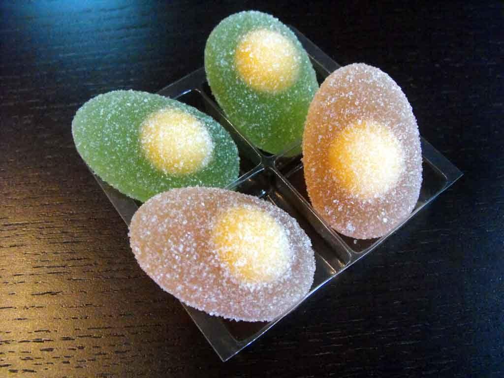 Chese Transparente Din Plastic Pentru Jeleuri Ou