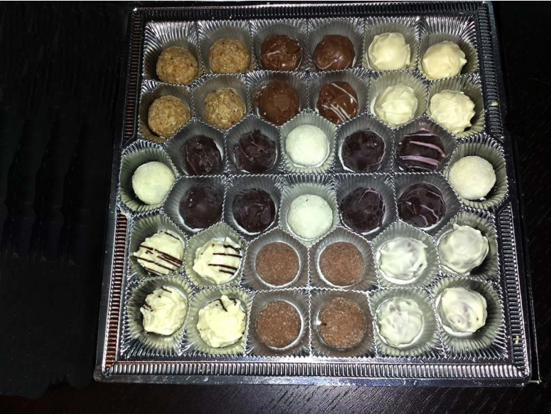 Chese plastic pentru praline, bomboane (1)