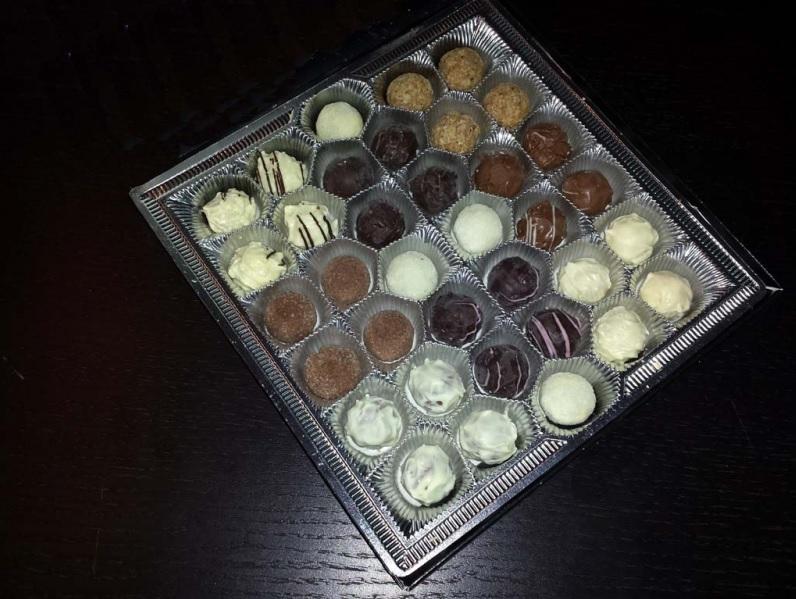 Chese plastic pentru praline, bomboane (2)