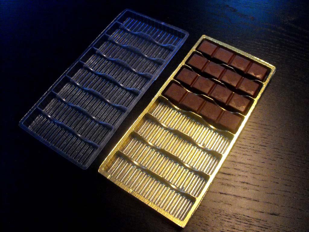 Chese Rezistente Din Plastic Pentru Tablete Ciocolata
