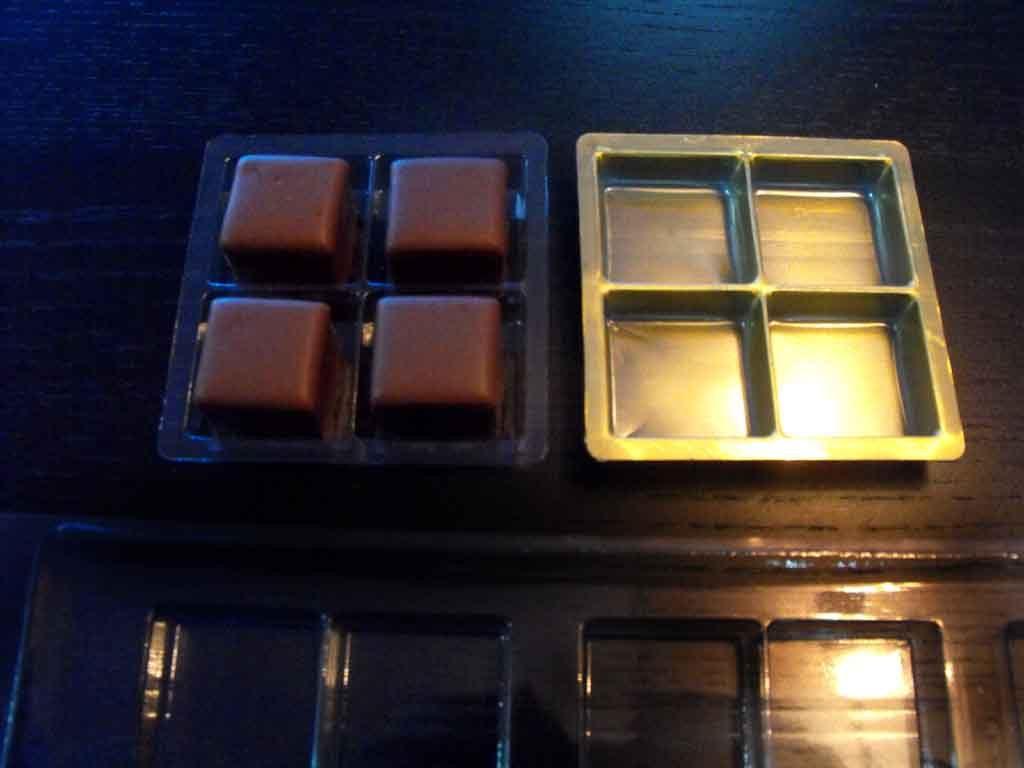 Chese plastic pentru tablete ciocolata aurii (1)