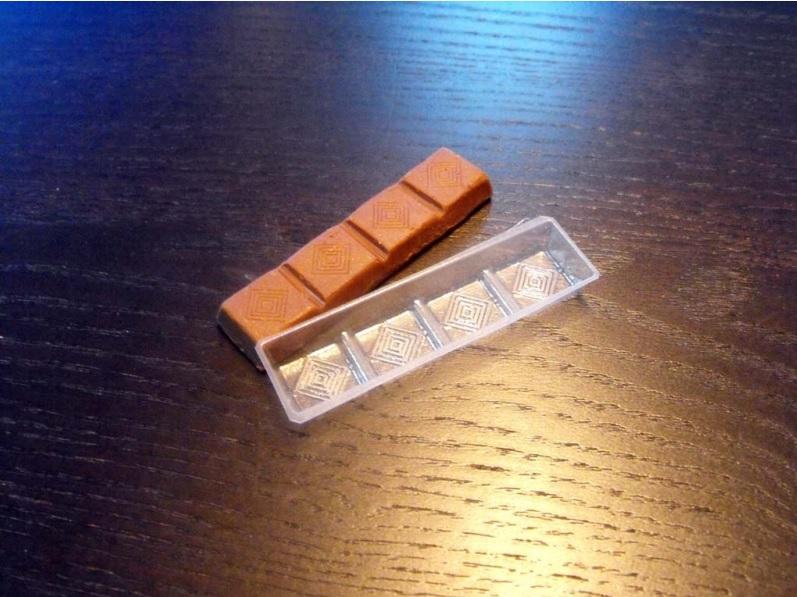 Chese plastic pentru tablete de ciocolata