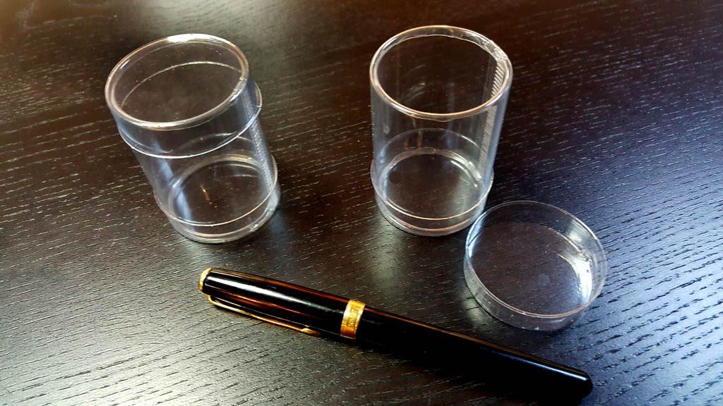 Cilindru din plastic pentru 2 macarons (3)