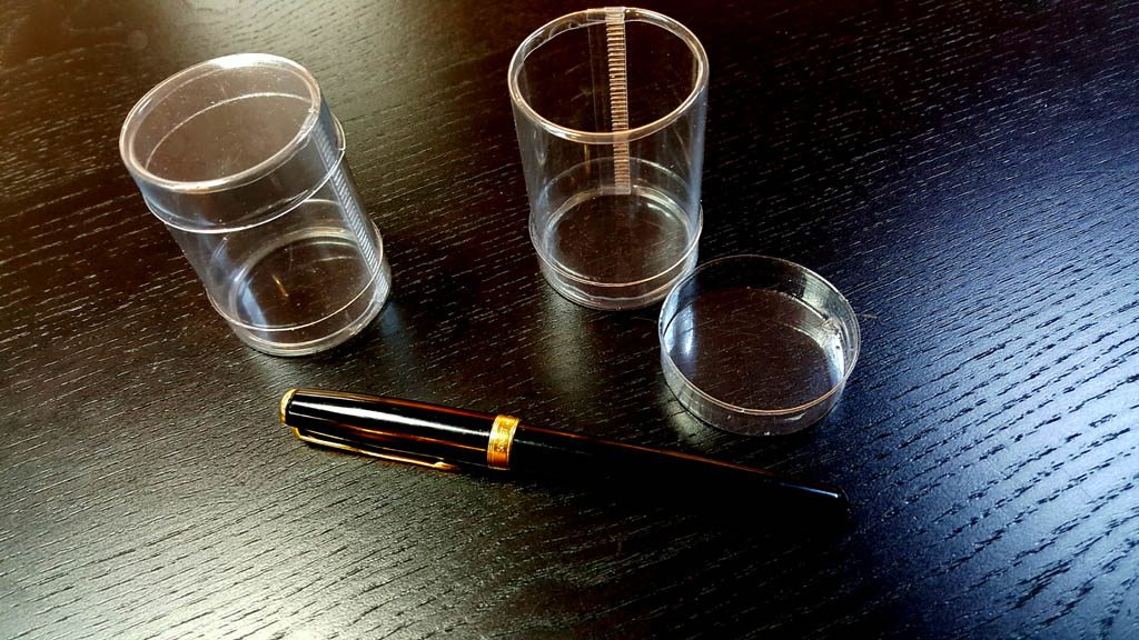 Cilindru din plastic pentru 2 macarons (4)