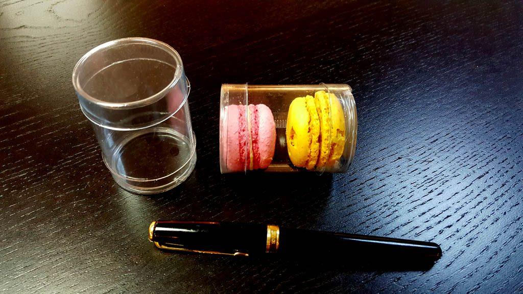 Cilindri Dure Din Plastic Pentru 2 Macarons