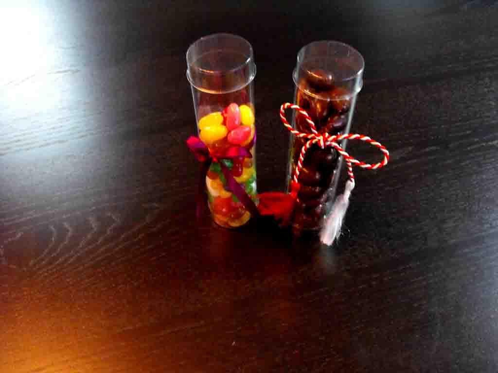 Cilindru din plastic pentru arahide, drajeuri (3)