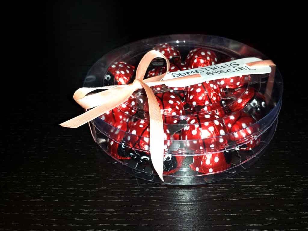 Cilindru din plastic pentru bomboane gargarita (2)