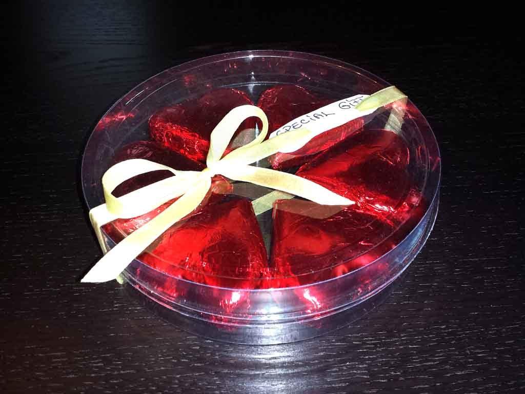 Cilindru din plastic pentru ciocolata (1)