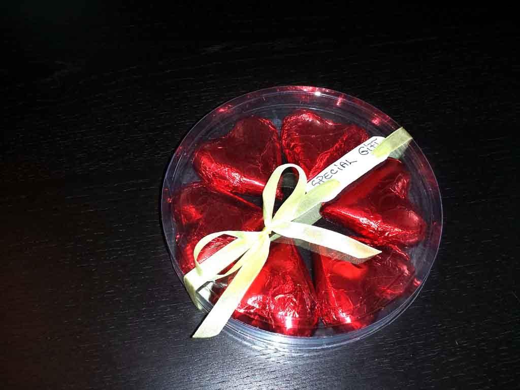 Cilindru din plastic pentru ciocolata (2)
